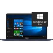 Ultrabook Asus ZenBook Pro UX550VE Intel Core Kaby Lake i7-7700HQ 512B 16GB nVidia GTX1050Ti 4GB Win10 Pro FHD FPR Bonus Rucsac Laptop Asus Argo