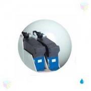 Pack de 2 cartouches bleues pour imprimante Pitney Bowes Dm390i Dm210i