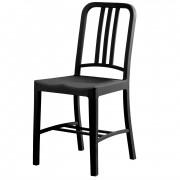 Philippe Starck terrasstoel Navy Chair mat PP zwart