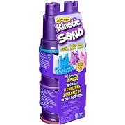 Kinetic Sand - 3 db pasztellszínű tégely