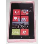 Силиконов гръб ТПУ за Nokia Lumia 920 Розов