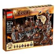 Lego The Goblin King Battle Hobbit