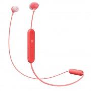 HEADPHONES, SONY WI-C300, Headset, Bluetooth, NFC, Red (WIC300R.CE7)