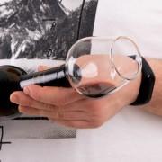 Pahar dop de sticla de vin