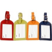Sukeshcraft W currecny Luggage Tag(Multicolor)