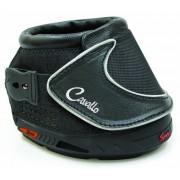 Cavallo Sport Hoof Boot Slim Sole, Black, Negro, Tamaño 0