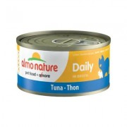 Almo Nature Daily Tuna in Broth Grain-Free Canned Cat Food, 2.47-oz, case of 12