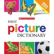 Scholastic First Picture Dictionary, Hardcover
