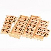 ?MONTE Kids? Montessori teaching tool - Segant board 1 · 2 set - Montessori educational toys teaching early childhood early education Monte Kids authentic teaching materials math toys - Segant board 1 · 2 set