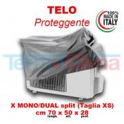 Cappottina Per Climatizzatori Condizionatori Taglia Xs Lungh70cmx Alt50cm X Prof28cm