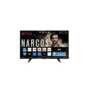 Smart TV LED 32 AOC LE32S5970 HD com Wi-Fi, Controle com Botão Netflix, 2 USB, 3 HDMI, TV Digital e 60Hz
