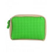 UPixel Bags - Ръчна чантичка Upixel 01 - бежово / зелено