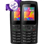 BUY 1 IKall K6610 (Dual Sim 1.8 Inch Display 800 Mah Battery Made In India Black) Get IKall K6610 Free
