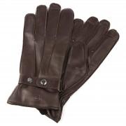 Salt & Hide Gants en cuir marron avec taille de poignet réglable