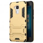 Bolsa Híbrida com Suporte Removível para Huawei Honor 5c, Honor 7 lite - Dourado
