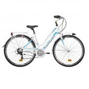 Atala City Bike Discovery S Bianco Azzurro Donna 44/S