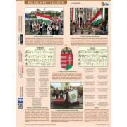 Tanulói munkalap, A4, STIEFEL Magyar nemzeti jelképek és ereklyék (VTM42)