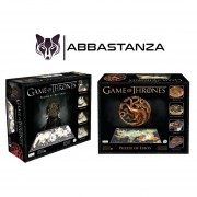 set 2 Rompecabezas 4D Cityscape Game of Thrones 1400 pzas