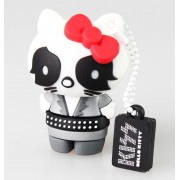 flash disc USB 8GB (kulcstartó) KISS - HELLO KITTY - The Catman - 23993