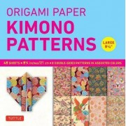Origami Paper Kimono Patterns Large by Tuttle Publishing