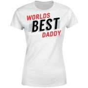 Worlds Best Daddy Women's T-Shirt - White - XL - White