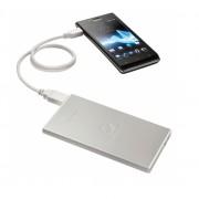 Sony USB Portable Power Supply Pack 3500 mAh - резервна външна батерия за Sony мобилни телефони (сребрист)