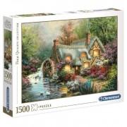 Puzzle 1500 piezas Retiro en el Campo - Clementoni