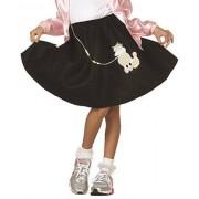 RG Costumes Falda Infantil para caniche (Negro; niño pequeño)