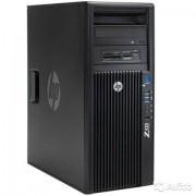 HP Hewlett-Packard HP Z420 Quad Core E5-1603 2.80Ghz, 8 GB (2x4GB), 2TB HDD SATA/DVDRW, Quadro 600, Win 10 Pro