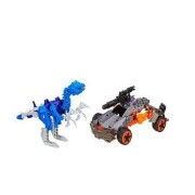 Transformers Age of Extinction Construct-Bots Dinobot Warriors Lockdown and Hangnail Dino Buildable Action Figure