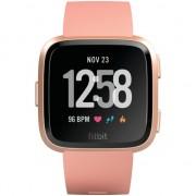 Ceas smartwatch Fitbit Versa, Peach/Rose Gold Aluminum
