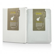Visible Difference Natural Silk Mask Sheet - Snail 10pcsx23ml Visible Difference Mască Tip Folie Naturală cu Mătase - Snail