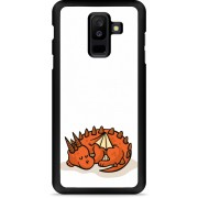 Galaxy A6 Plus Hardcase Hoesje Sleeping Dragon