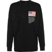 Mister Tee NASA Worm Logo Heren zwart, S