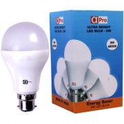Alpha Pro 5 Watt Warm White LED Bulb (Pack of 1)