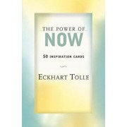 The Power of Now: 50 Inspiration Cards/Eckhart Tolle