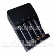 MW8168S 4 csatornás akkumulátor töltő