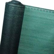 Plasa umbrire si anti-vant Strend Pro Privat 2x50 m HDPE UV 230 g/m2 95 verde