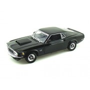 1970 Ford Mustang Boss 429 1/18 Black
