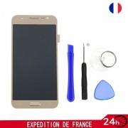 Ecran Lcd Vitre Tactile Sur Châssis Pour Samsung Galaxy J5 Sm-J500f Couleur Or + Set Outils