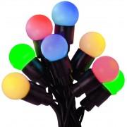 Star Trading Batteridriven LED ljusslinga party 20 ljus multi med timer