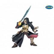 Pirat cu cap de mort - Figurina Papo