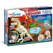 Clementoni gioco educativo focus jr il mondo dei dinosauri 19030