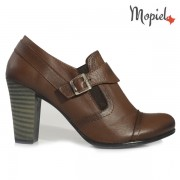 Pantofi dama din piele naturala 245007/5007/Maro