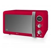 Swan SM22030RN Retro Digital 20 L Microwave - Red