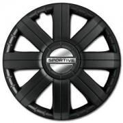 PETEX Sportive Pro Black 15 (1 Set = 4 Pieces)