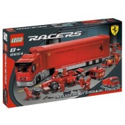 Lego (Lego) Scuderia Ferrari F1 Transporter 8654