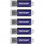 Patriot Memory 8GB Pulse Series USB 2.0 Flash Drive, -Azul