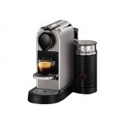 Krups Nespresso CitiZ & Milk YY2732FD - Machine à café - 19 bar - argenté(e) - avec mousseur à lait