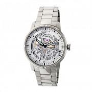 Heritor Automatic Ryder Skeleton Dial Bracelet Watch - Silver HERHR4607